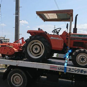 不要になったトラクター、シニアカー処分(妙高市 K様)