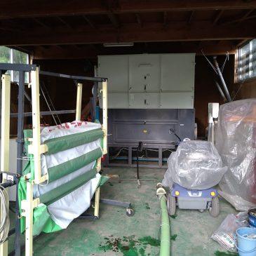 離農の為、農機具買取と玄米乾燥機の解体(上越市 F様)