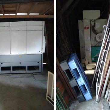 農機具買取と乾燥機解体(妙高市 S様)